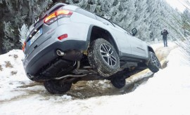 Jeep Grand Cherokee Trailhawk offroad