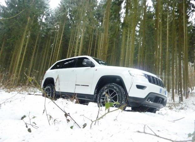 Jeep Grand Cherokee Trailhawk Testbericht