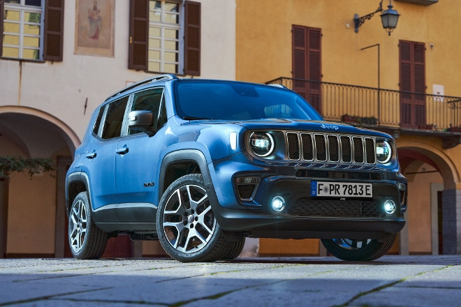 Front Jeep Renegade 4xe Plug in Hybrid
