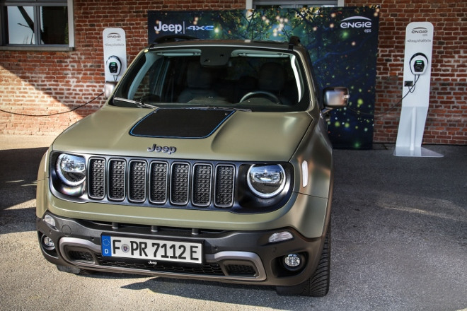 laden Jeep Renegade 4xe Plug in Hybrid
