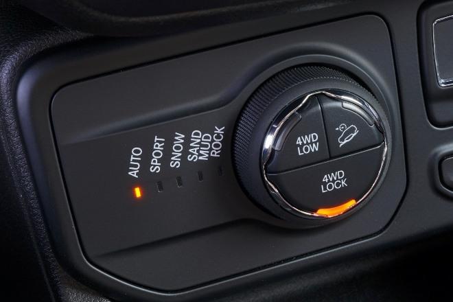 Fahrprogramme und Geländeprogramme Jeep Renegade 4xe Plug in Hybrid