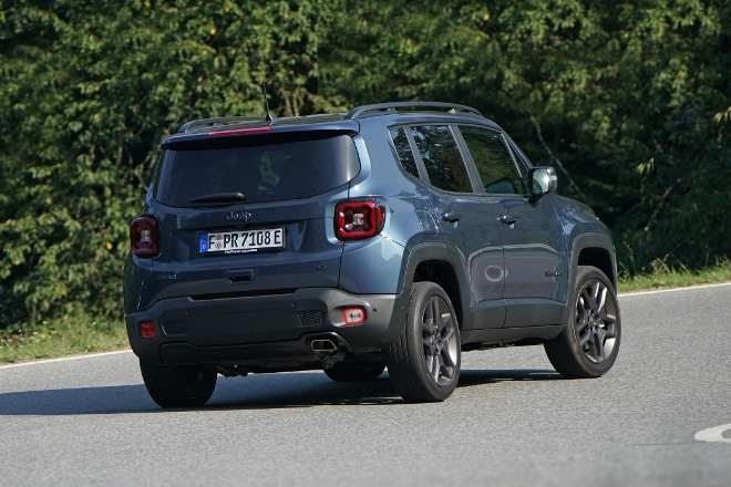 Heck Jeep Renegade 4xe Plug in Hybrid