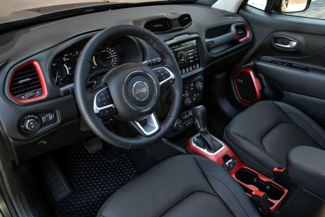 Innenraum Jeep Renegade 4xe Plug in Hybrid
