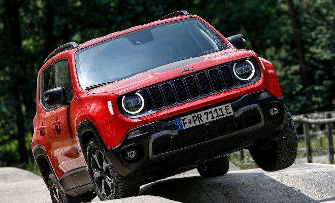 Jeep Renegade 4xe Plug in Hybrid Trailhawk Offroad Version