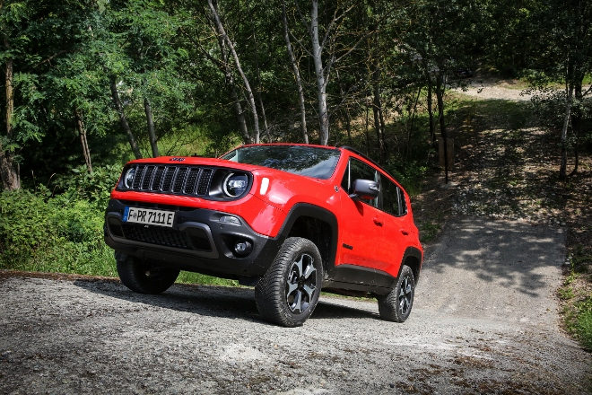 offroad Jeep Renegade 4xe Plug in Hybrid
