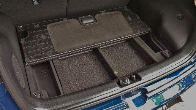 Kia Niro Hybrid Kofferraum Fach