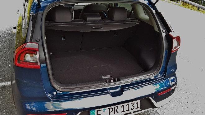 Kia Niro Hybrid Kofferraum