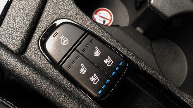 Kia Niro Hybrid Sitzheizung