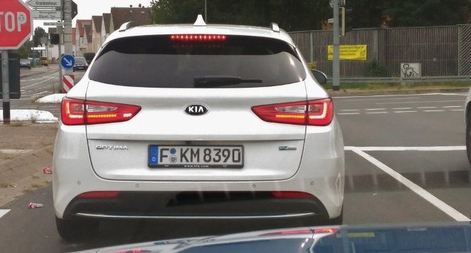 Kia Optima Kombi Heck Plug-in-Hybrid
