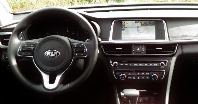 Kia Optima Kombi Lenkrad Plug-in-Hybrid