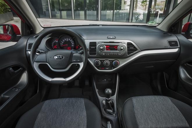 Kia Picanto 2016, Cockpit