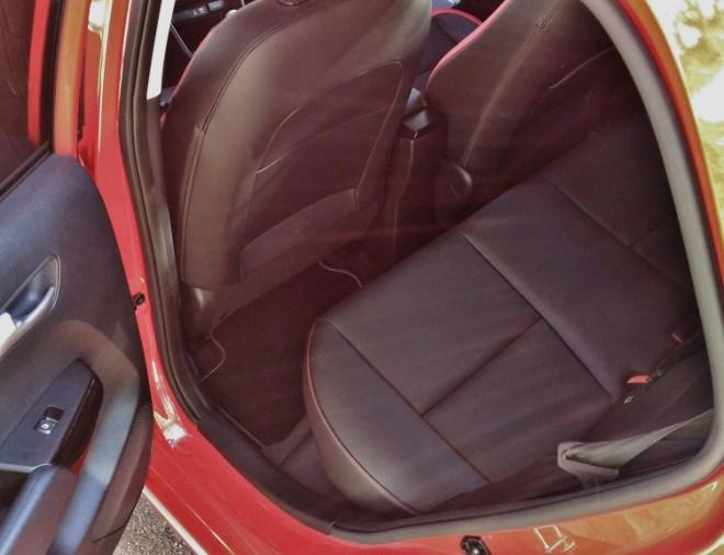 Kia Picanto 2017 hintere Sitze