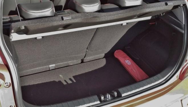 Kia Picanto Modell 2017 Trunk
