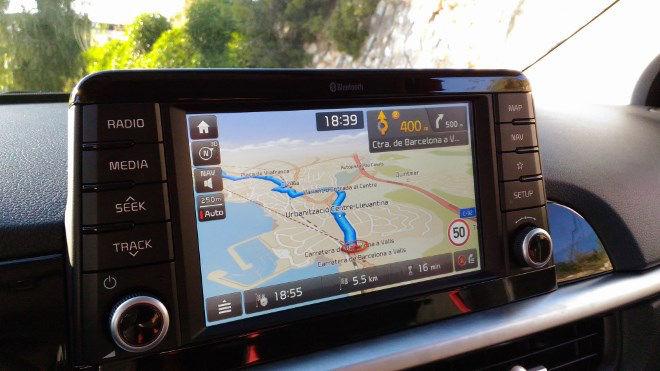 Kia Picanto Modell 2017 Navigation