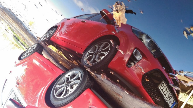 Kia Picanto Front, rot, 2018