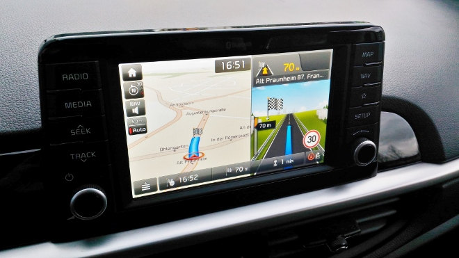 Picanto Monitor, Bildschirm, Touchscreen