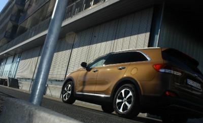 Kia Sorento Diesel 2016 Seitenansicht Karosserie