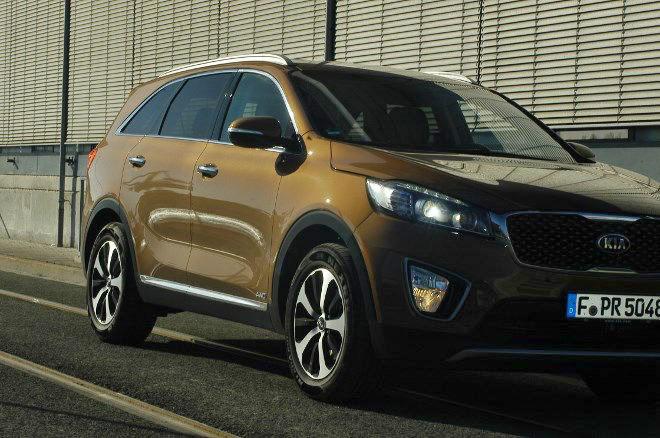 Kia Sorento Diesel 2016 Front