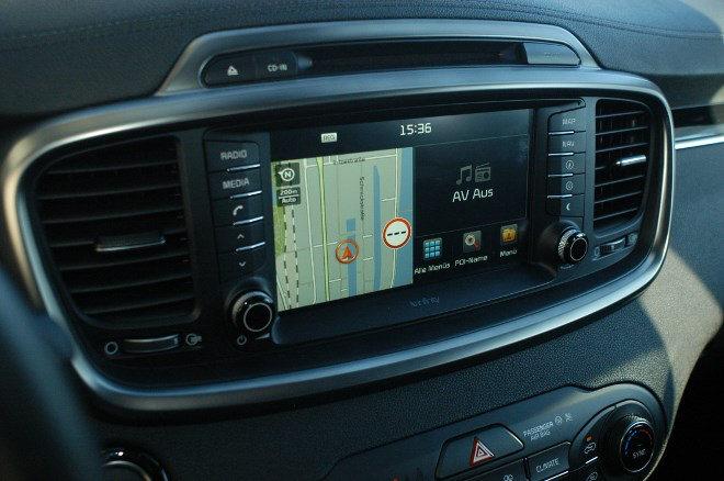 Kia Sorento Diesel 2016 Monitor, Touchscreen
