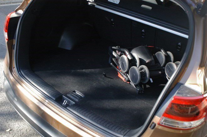Kia Sorento Diesel 2016 Kofferraum
