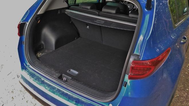 Kia Sportage Facelift Kofferraum und Kofferraumvolumen
