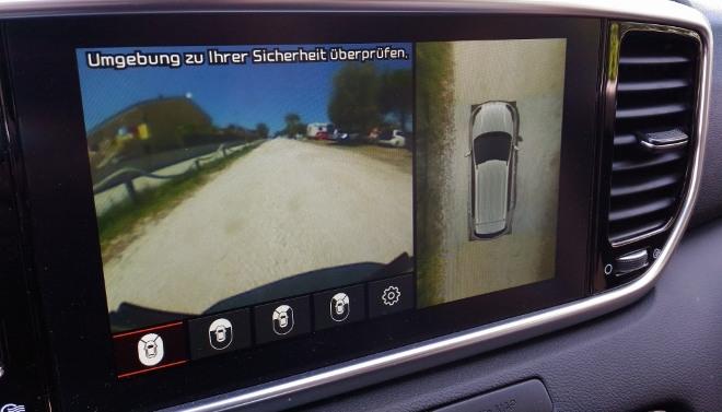Kia Sportage Facelift Kamera