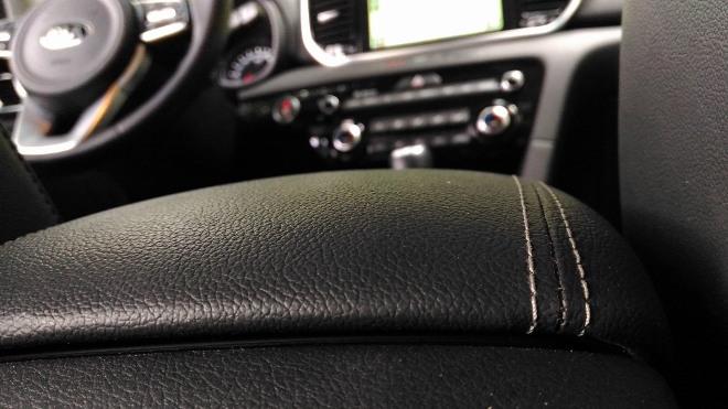 Kia Sportage Facelift schwarzes Leder