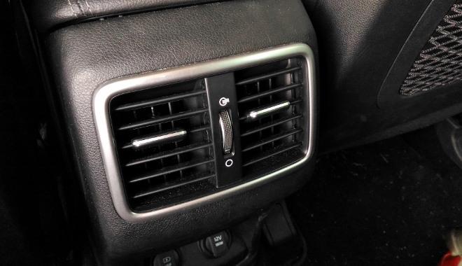 Kia Sportage Facelift Klima hinten