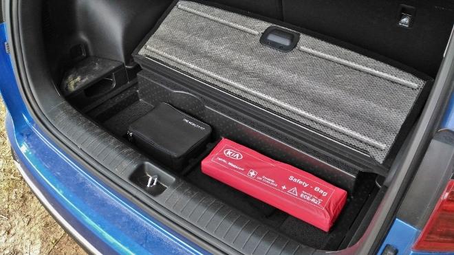 Kia Sportage Facelift Bodenfach im Kofferraum