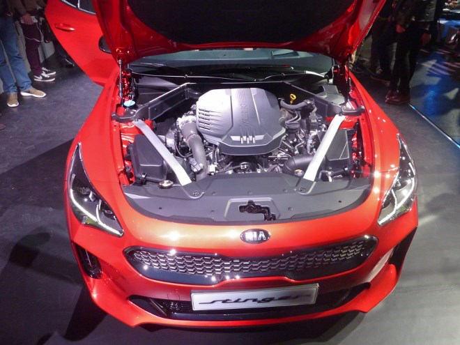Kia Stinger V6 Motor