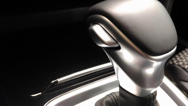 Kia Plug in Hybrid Test, Automatik Wahlhebel