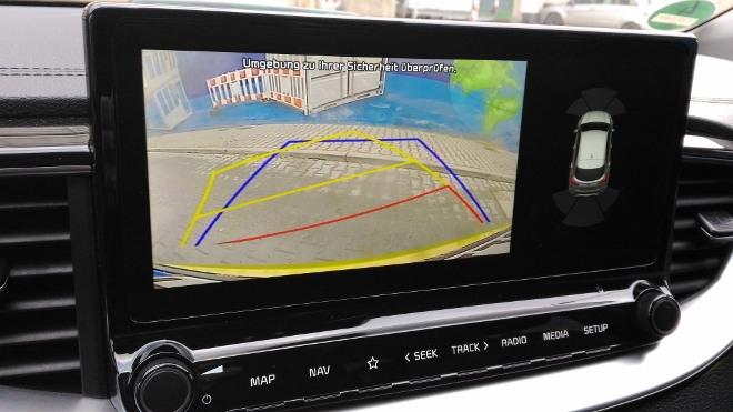 Kia Plug in Hybrid Test, Kamera Bild
