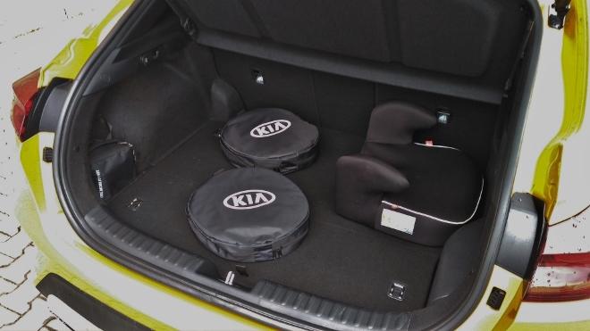 Kia Plug in Hybrid Test, Kofferraum und Ladekante