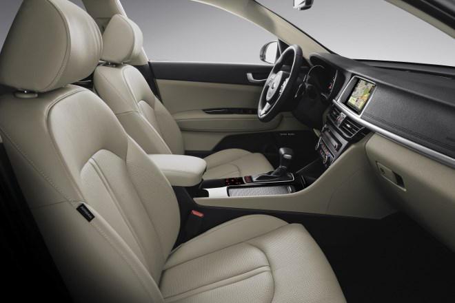 Kia Optima 1.7 Diesel Sitze Leder beige