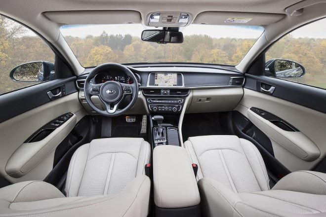 Kia Optima 1.7 Diesel Innenraum