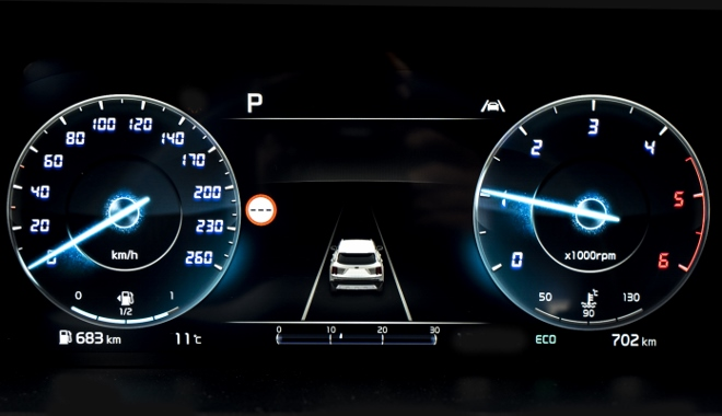 Digitalinstrumente neuer Kia Sorento 2020 / 2021