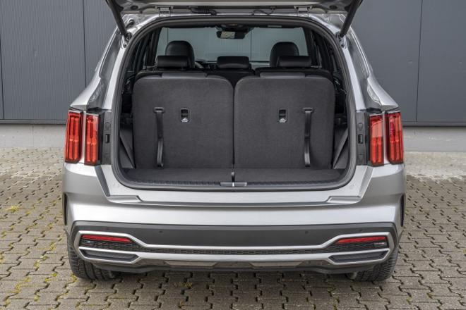 Neuer Kia Sorento 2020 / 2021 Kofferraum Volumen
