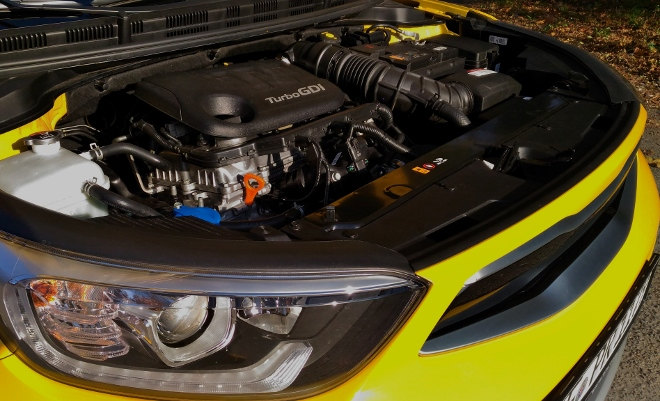 Kia Stonic 2019 Motor Turbo GDI Dreizylinder