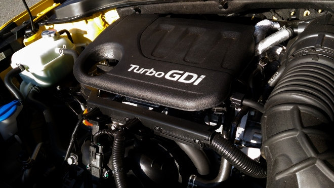 Kia Stonic Einliter Turbo Benziner GDI