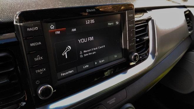 Kia Stonic Touchscreen Bildschirm, Monitor