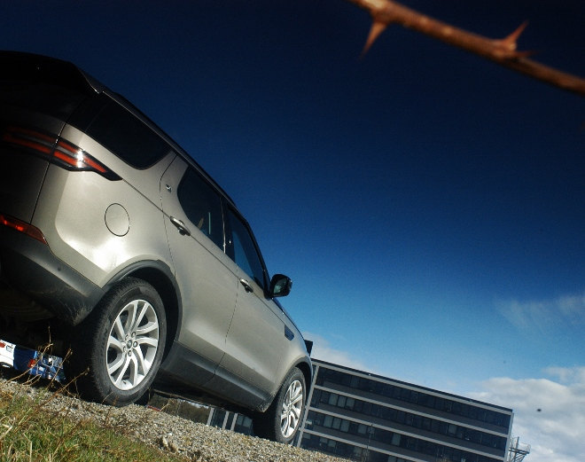 Land Rover Discovery 2018, Test