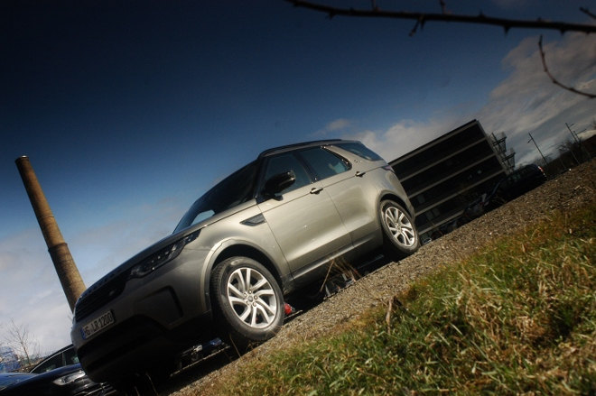 Land Rover Discovery 2018, Front, Seite