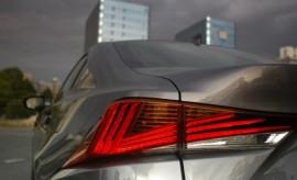 Lexus IS Sport Heckleuchten Facelift