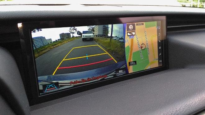 Lexus IS Sport Kamera, Rückfahrkamera