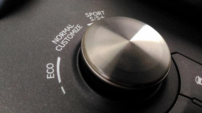 Lexus IS Sport Fahrprogramme Mitelkonsole
