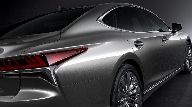 Lexus LS 2018 interior exterior