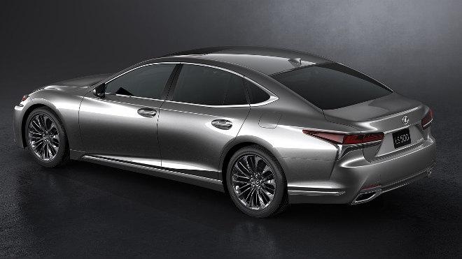 Lexus LS 2018 Test Safety
