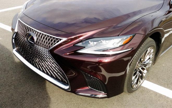 Lexus LS 2018 Test Safety Sicherheit