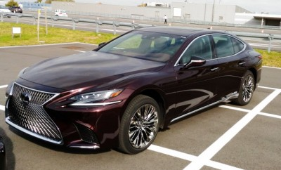 Lexus LS 2018 Test Safety Sicherheit