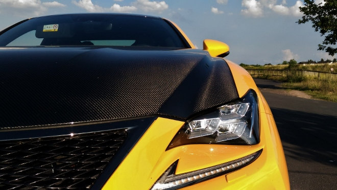 Lexus RC F Karbon Motorhaube 2018